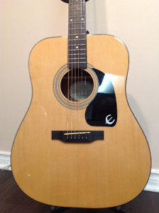 Epiphone DR100NA  Acoustic guitar *MINT*