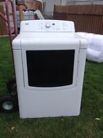 White electric dryer