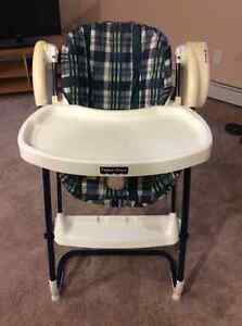 Fisher Price convertible swing and high chair