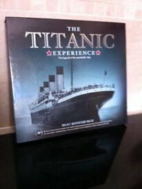 Titanic Experience book