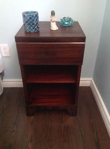 Gibbard dresser and end table