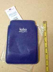 Kobo e-reader leather cover - Roots - from Indigo NEW with tags