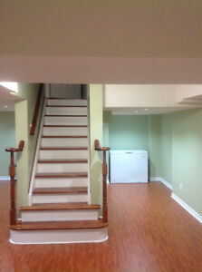Immaculate two bedroom basement apartment for rent
