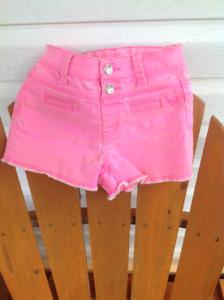 Size 8 shorts, capris and leggings