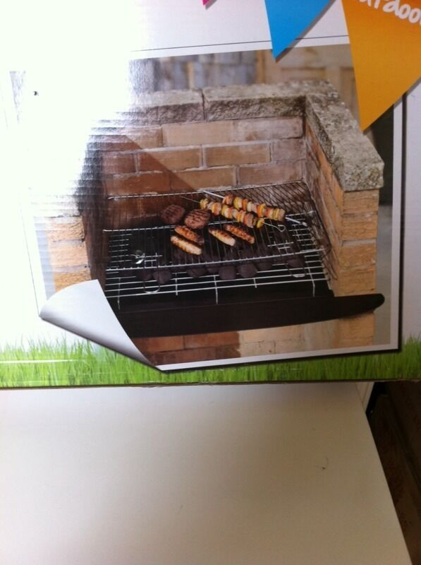 Diy Charcoal Grill Bbq New Boxed In Broadstone Dorset