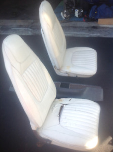 1971 Challenger buckets seats and other related parts