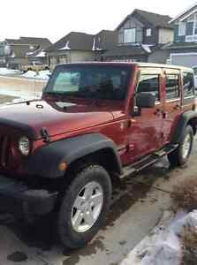 2011 Jeep Wrangler Sport unlimited SUV, Crossover