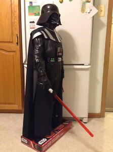 Star Wars Darth Vader. Motion activated 4 feet in height. Cambridge Kitchener Area image 2