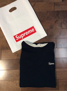 Supreme Hooded L/S Top