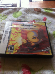 avatar/into the inferno nintendo ds game