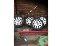 "Audi 5 stud 16"" alloy wheels"
