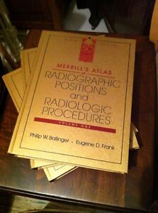 Merrills Radiographic Positions and Procedures Text Books