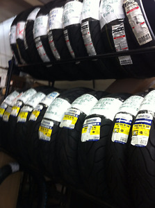 ****NEW MOTORCYCLE TIRES****