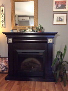 Foyer électrique décoratif