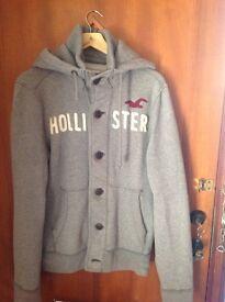 Hollister mens jacket with hood Size Medium