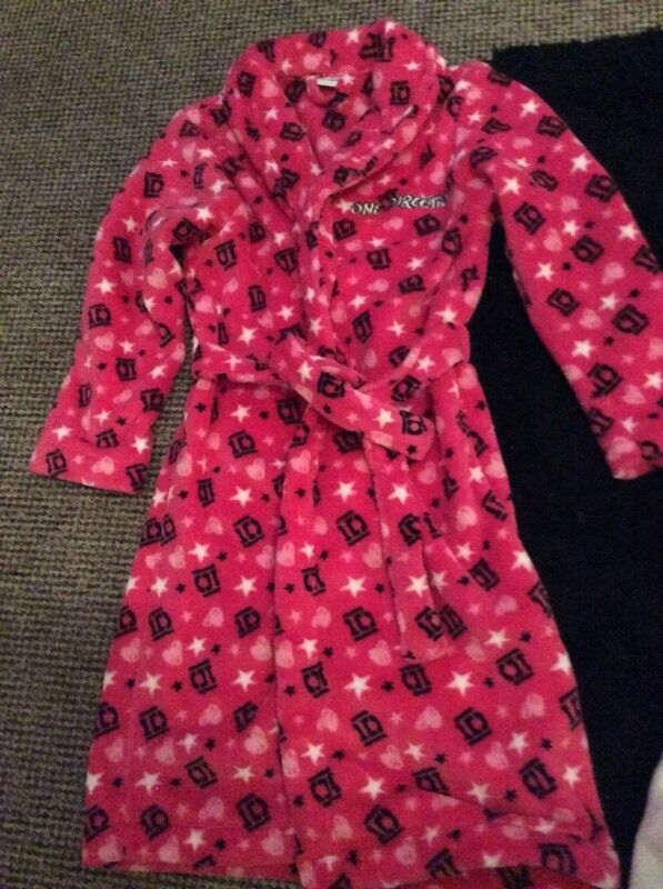 One direction dressing gown 10-11 years | in Hucknall ...