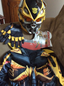 Size small (4-6) bumblebee costume