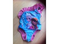 Girls swimming costume frozen age 2-3 years new without tags