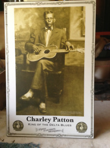 Charley Patton King of the Delta Blues Poster