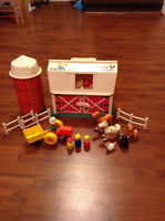 Vintage Fisher Price Play Family Farm