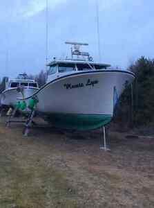 Lobster fishing boat