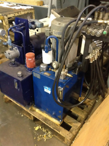 Hydraulic Units, Pumps, Motors, Fans and Presses