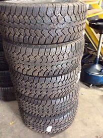 275 55 20 tyres BRAND NEW