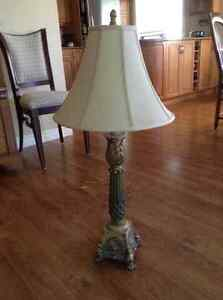Two Table Lamps Stratford Kitchener Area image 1
