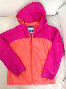 Columbia girls spring jacket