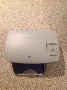 Hp psc 2100 series all-in-one printer