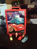 Cars hot wheels carrying case