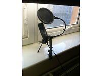 AKG studio condensing microphone