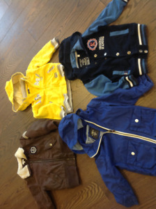 4 Cute and Great Quality Little Boys Jackets for Fall
