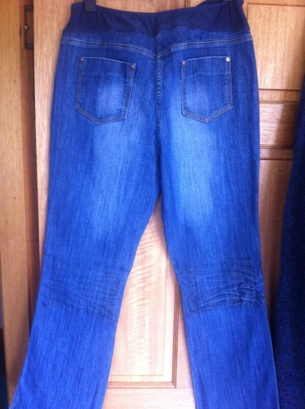 Next size 14 maternity jeans boot cut | in Kinross, Perth and ...
