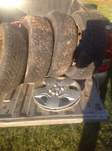 Aveo or wave winter tires and rims