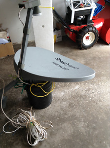 SHAW DISH, REMOTE AND RECEIVER