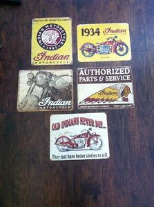 Metal tin signs