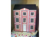 Large three story dolls house