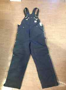 Men's work lined coveralls