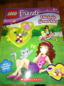 Lego friends book for sale