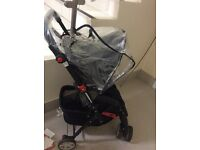 BABYSTART PUSHCHAIR REVERSIBLE HANDLE EXCELLENT CONDITION USED FOR 6 MONTHS.