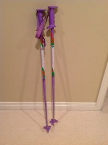 Kids ski poles 100 cm tall London Ontario image 1