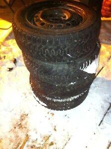 4 BRAND NEW  GOODYEAR NORDIC TIRES West Island Greater Montréal image 2