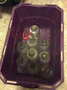 Old Glass IV bottles (10 total) Edmonton Edmonton Area image 2