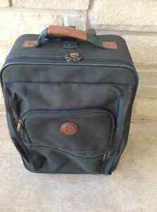 Green Carry On Samsonite Luggage