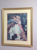 Lovely framed print. *** NEW PRICE ***