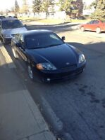 2004 HYUNDAI TIBURON SPORT COUPE FULLY LOADED SUNROOF LOW KM