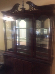 Solid 2pc Buffet Hutch