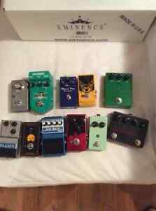 Quality pedal clear out