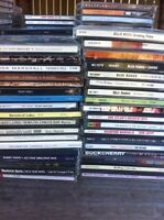 whole bunch of cds